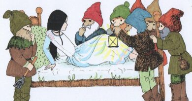 seven dwarfs and snow white