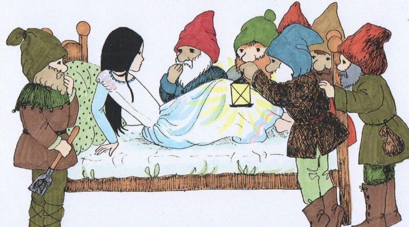 seven dwarfs and snow white