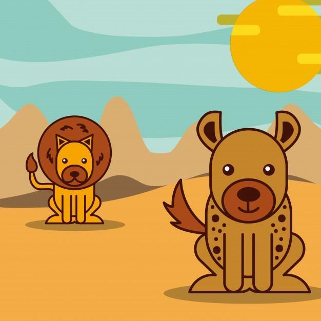 Lion and Jackal