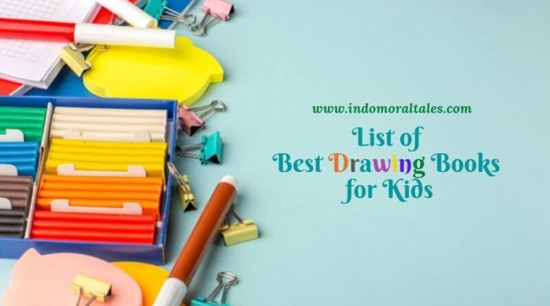 List of Best Drawing Books for Kids