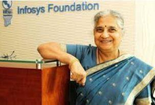 Sudha Murthy Smile