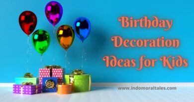 Birthday Decoration Ideas For Kids