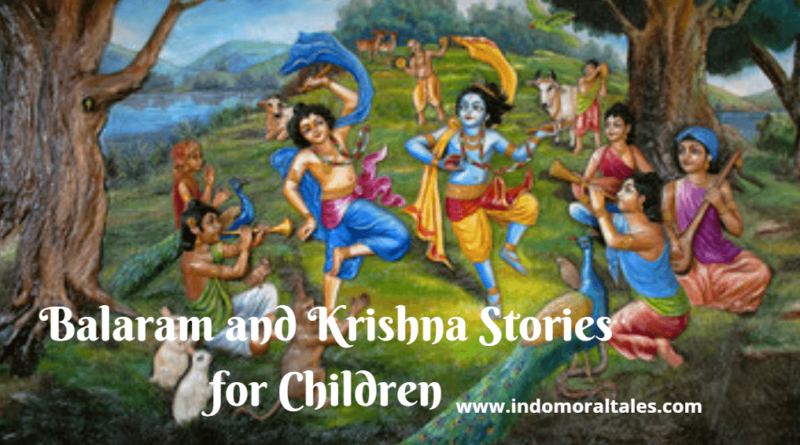 Krishna and Balram Friendship Stories for Kids