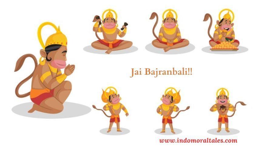 Hanuman Poses